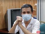 BS. Nguyễn Trung Nguyên – Giám đốc Trung tâm Chống độc, Bệnh viện Bạch Mai (Ảnh: Minh Thúy)
