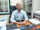 TTND. BSCC. Trần Văn Bản – Chủ tịch Trung ương Hội Đông Y Việt Nam (Ảnh: Minh Thúy)