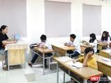 Giáo viên và học sinh trong giờ học (Ảnh: Minh Thúy)