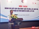 Thứ trưởng Bộ Y tế Nguyễn Trường Sơn (Ảnh: Minh Thuý)