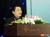 PGS. TS. Nguyễn Duy Ánh – Giám đốc Bệnh viện Phụ sản Hà Nội (Ảnh: Thảo Vy)