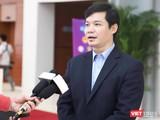 ThS. Nguyễn Trường Nam – Phó Cục trưởng Cục Công nghệ thông tin, Bộ Y tế (Ảnh: Minh Thuý)