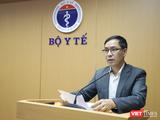 Ông Đặng Quang Tấn – Cục trưởng Cục Y tế dự phòng, Bộ Y tế (Ảnh: Minh Thuý)
