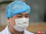 BS. CKII. Nguyễn Trung Cấp – Phó Giám đốc Bệnh viện Bệnh Nhiệt đới Trung ương (Ảnh - Hoàng Anh)