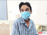 Bệnh nhân Đ. bị xơ gan nặng sau nhiều năm uống thuốc nam (Ảnh - Minh Thuý)