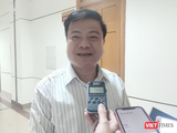 GS. TS. Nguyễn Văn Kính – Chủ tịch Hội truyền nhiễm Việt Nam (Ảnh - Minh Thuý)