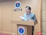 PGS. TS. Lương Ngọc Khuê – Cục trưởng Cục Quản lý Khám, chữa bệnh, Bộ Y tế (Ảnh - Minh Thuý)