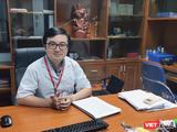 BS. Vũ Quốc Đạt – Giảng viên Bộ môn Truyền nhiễm, Trường Đại học Y Hà Nội (Ảnh - Minh Thuý)