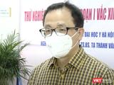 GS. TS. Tạ Thành Văn – Chủ tịch Hội đồng Trường Đại học Y Hà Nội, nghiên cứu viên chính của chương trình thử nghiệm lâm sàng vaccine ARCT-154 phòng COVID-19 (Ảnh VT cắt từ clip)