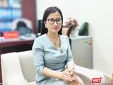 ThS. Trần Thị Trang - Phó Vụ trưởng Vụ Pháp chế (Bộ Y tế) (Ảnh Minh Thuý)