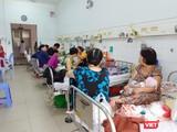 Nắng nóng gay gắt khiến nhiều trẻ em phải nhập viện
