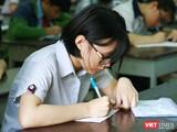 Thí sinh dự thi vào lớp 10 tại TP.HCM