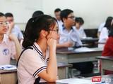 Thí sinh tham dự kỳ thi tuyển sinh vào lớp 10 tại TP.HCM