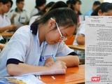 Học sinh tham gia kỳ thi tuyển sinh vào lớp 10