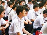 Thí sinh tham dự kỳ thi tuyển sinh vào lớp 10