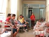 Số lượng bệnh nhân sốt xuất huyết tăng đột biến