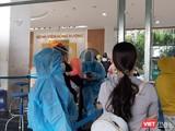 Khám sàng lọc tại BV Hùng Vương. Ảnh: Nguyễn Trăm