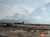 Máy bay Vietnam Airlines hạ cánh nhầm đường băng sân bay Cam Ranh ngày 29/4. Ảnh: VietTimes