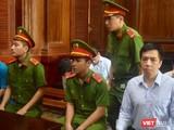 Các bị cáo trong phiên tòa sơ thẩm lần 2 vụ án VN Pharma