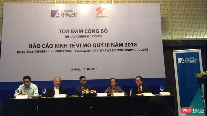 Tọa đàm công bố Báo cáo Kinh tế Vĩ mô Quý III/2018 (Ảnh: P.D)