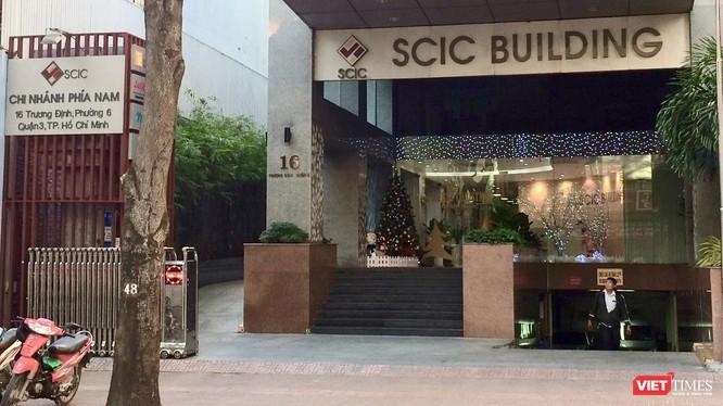 Văn phòng của SCIC chi nhánh phía Nam (Ảnh: P.D)