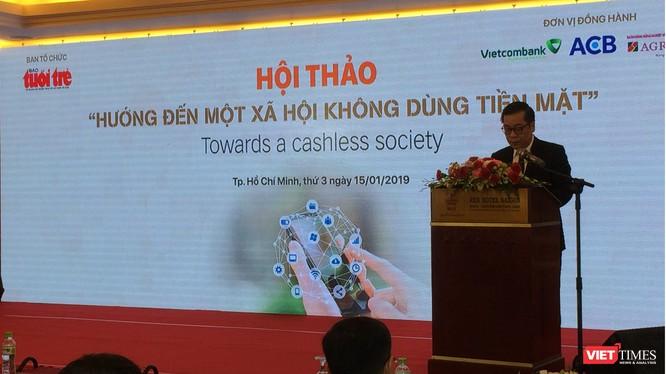 Ông Nguyễn Kim Anh - Phó Thống đốc Ngân hàng Nhà nước Việt Nam - phát biểu tại Hội nghị (Ảnh: P.D)