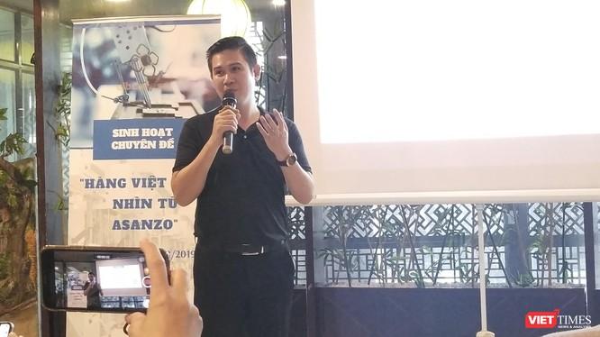 Nhà sáng lập, CEO Asanzo Phạm Văn Tam.