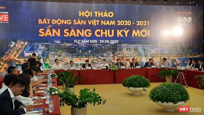 Toàn cảnh buổi hội thảo Bất động sản Việt Nam 2020 – 2021: Sẵn sàng cho chu kỳ mới