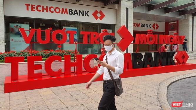 Techcombank báo lãi ròng 4.476 tỉ đồng Quý 1/2021