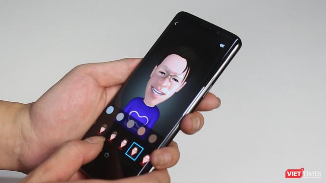 AR Emoji là một trong những tính năng thú vị nhất trên Galaxy S9