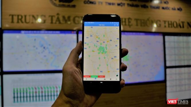 Ứng dụng HSDC Map hỗ trợ người dân trong mùa mưa bão.