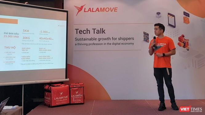 """CEO Lalamove Việt Nam Nguyễn Đức Lợi: """"Lalamove không cạnh tranh về giá"""""""