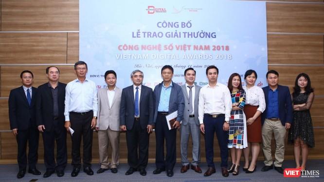 Họp báo Lễ trao giải thưởng Công nghệ số Việt Nam (VDA) 2018