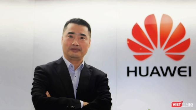 Ông Phan Quân (Fan Jun), Tổng Giám đốc Công ty Công nghệ Huawei Việt Nam.