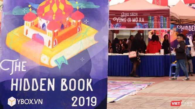 Hội chợ sách The Hidden Book: Nghìn lẻ một đêm tổ chức tại Cung Thiếu nhi ngày 17-3.
