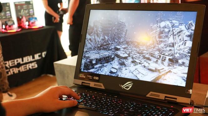 ROG G703 - laptop có giá 120 triệu đồng của Asus được trang bị GPU RTX 2080 Max-Q