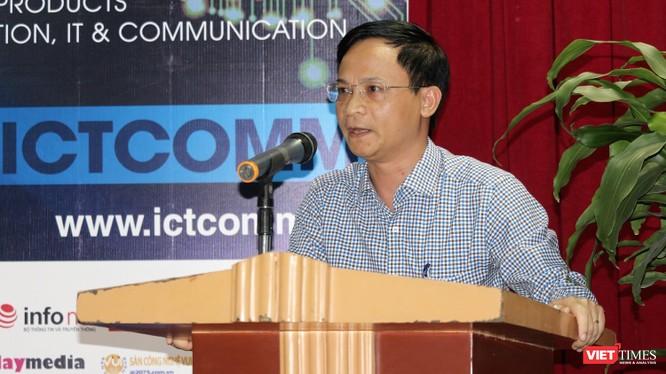 Phó Cục trưởng Cục Phát triển Thị trường và Hỗ trợ Doanh nghiệp Khoa học Công nghệ (NATEC), ông Phạm Đức Nghiệm.