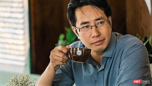 Nhà báo Trương Anh Ngọc (ảnh do nhân vật cung cấp)