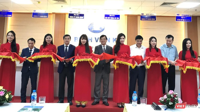 Cắt băng khai trương cơ sở thứ 4 của Bệnh viện K tại Hà Nội