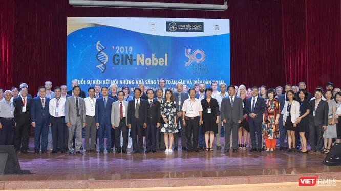 Các đại biểu tham dự Diễn đàn GIN-Nobel 2019