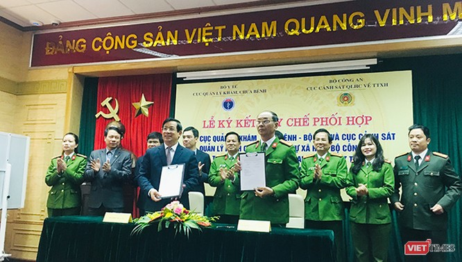 Bộ Công an và Bộ Y tế ký Quy chế phối hợp