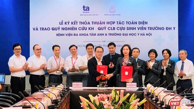Lễ ký kết hợp tác toàn diện giữa Trường Đại học Y Hà Nội và Bệnh viện đa khoa Tâm Anh