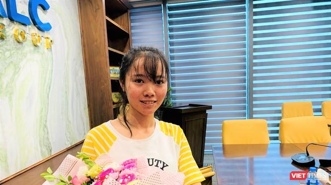 Cô học trò nghèo Trịnh Thị Phúc đã trở thành tân sinh viên ĐH Dược Hà Nội