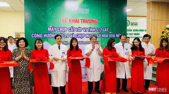 Bệnh viện Việt Đức khai trương dàn thiết bị hàng đầu thế giới trong chẩn đoán và điều trị