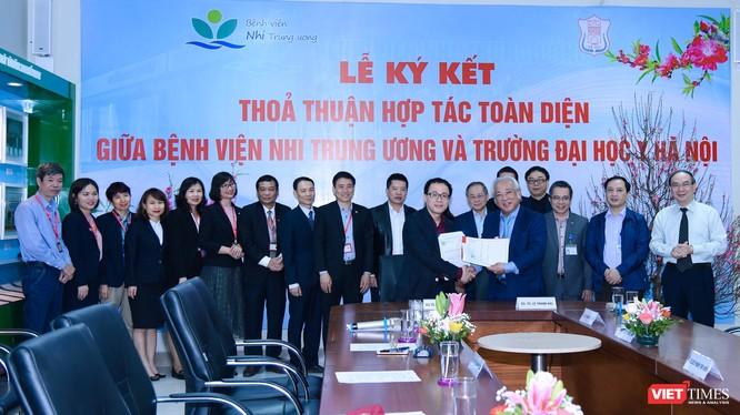 Việc hợp tác giữa Trường Đại học Y Hà Nội và Bệnh viện Nhi Trung ương sẽ mang lại lợi ích cho ngành y tế