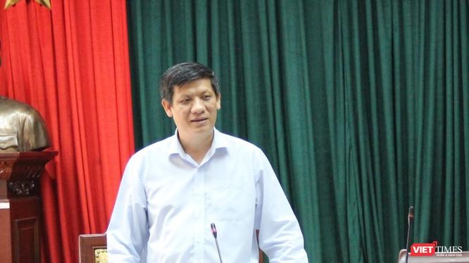 GS.TS. Nguyễn Thanh Long được điều động trở lại đảm nhiệm vai trò Thứ trưởng Bộ Y tế (ảnh: Thanh Hằng)