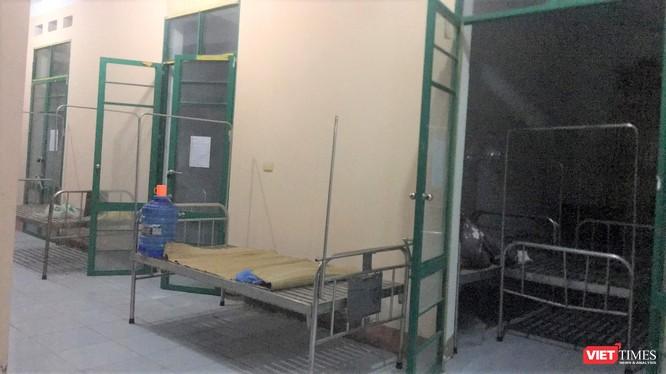 Khu vực cách ly đầu tiên của bệnh nhân 178 ở Bệnh viện huyện Đại Từ
