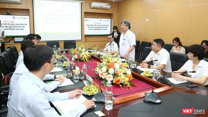 GS. Trần Bình Giang - Giám đốc BV Hữu nghị Việt Đức