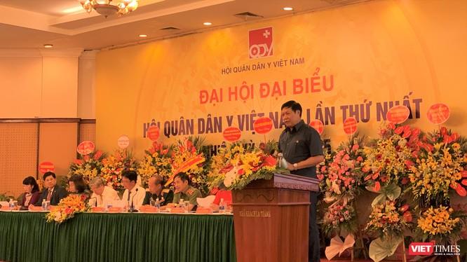 Khai mạc Đại hội đại biểu Hội Quân dân y Việt Nam lần thứ nhất, nhiệm kỳ 2020 - 2025 tại Hà Nội