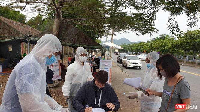 Chốt chặn kiểm soát dịch bệnh COVID-19 trên địa bàn Quảng Nam